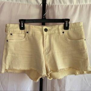 STS Blue Step Hem Denim Shorts, size 32